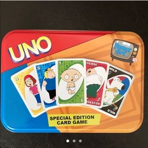 Family Guy Special Edition UNO Cards